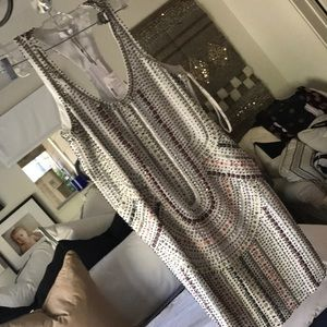 Parker beaded dress size Xs